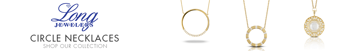 Circle Necklaces at Long Jewelers