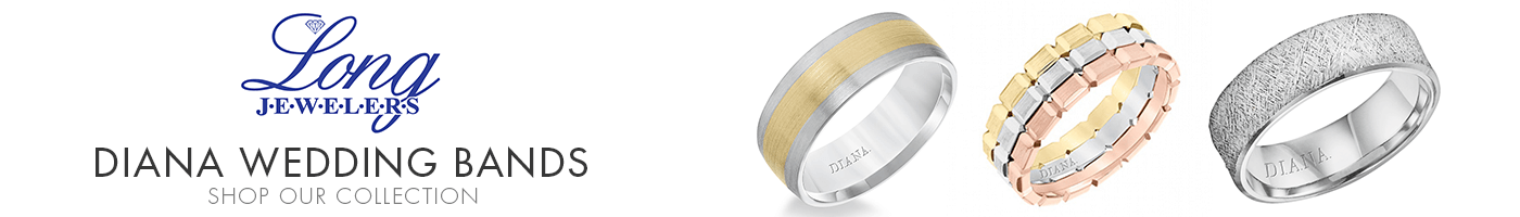 Diana Wedding Bands at Long Jewelers