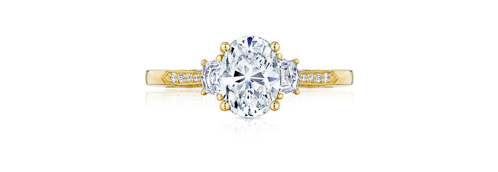 Tacori engagement rings at Long Jewelers