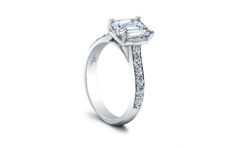 Classic collection engagement rings at Long Jewelers