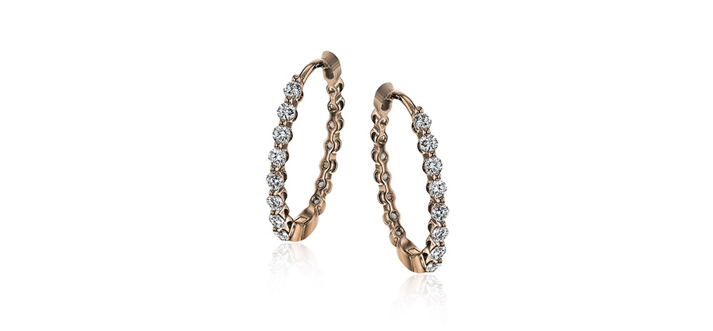 Simon G Hoop Earrings