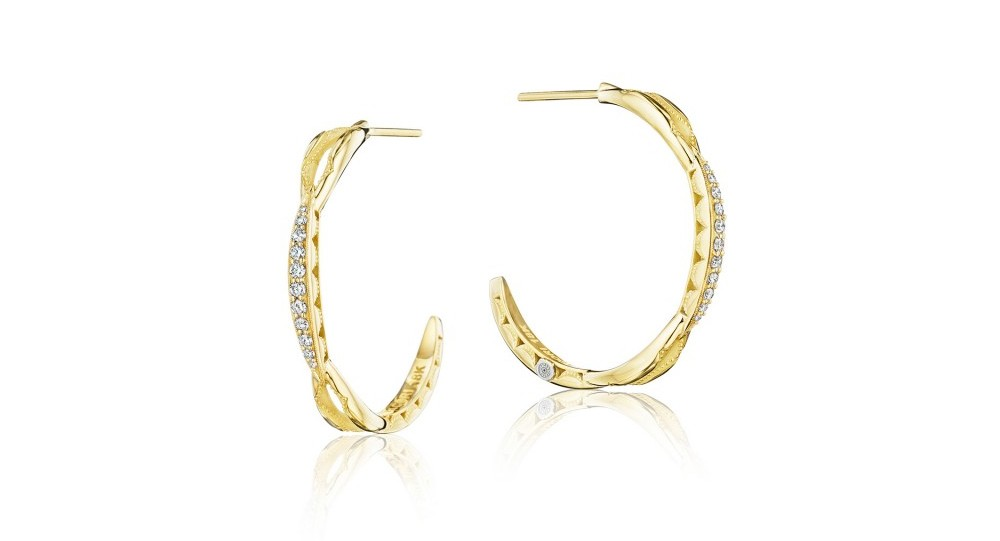 Tacori Hoop Earrings