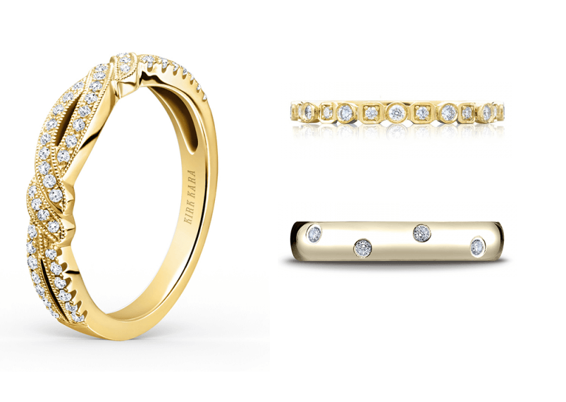 yellow Gold Wedding Bands Available at Long Jewelers