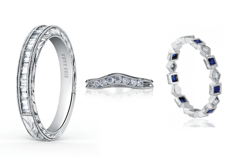Platinum Wedding Bands Available at Long Jewelers