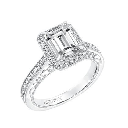 ArtCarved Engagement Ring Available at Long Jewelers