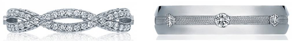 Tacori Wedding Bands Available at Long Jewelers