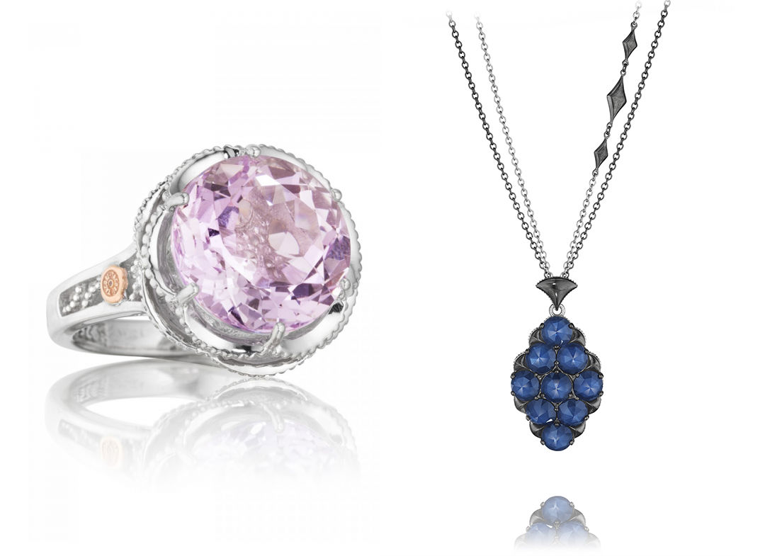 Gemstone jewelry at Long Jewelers